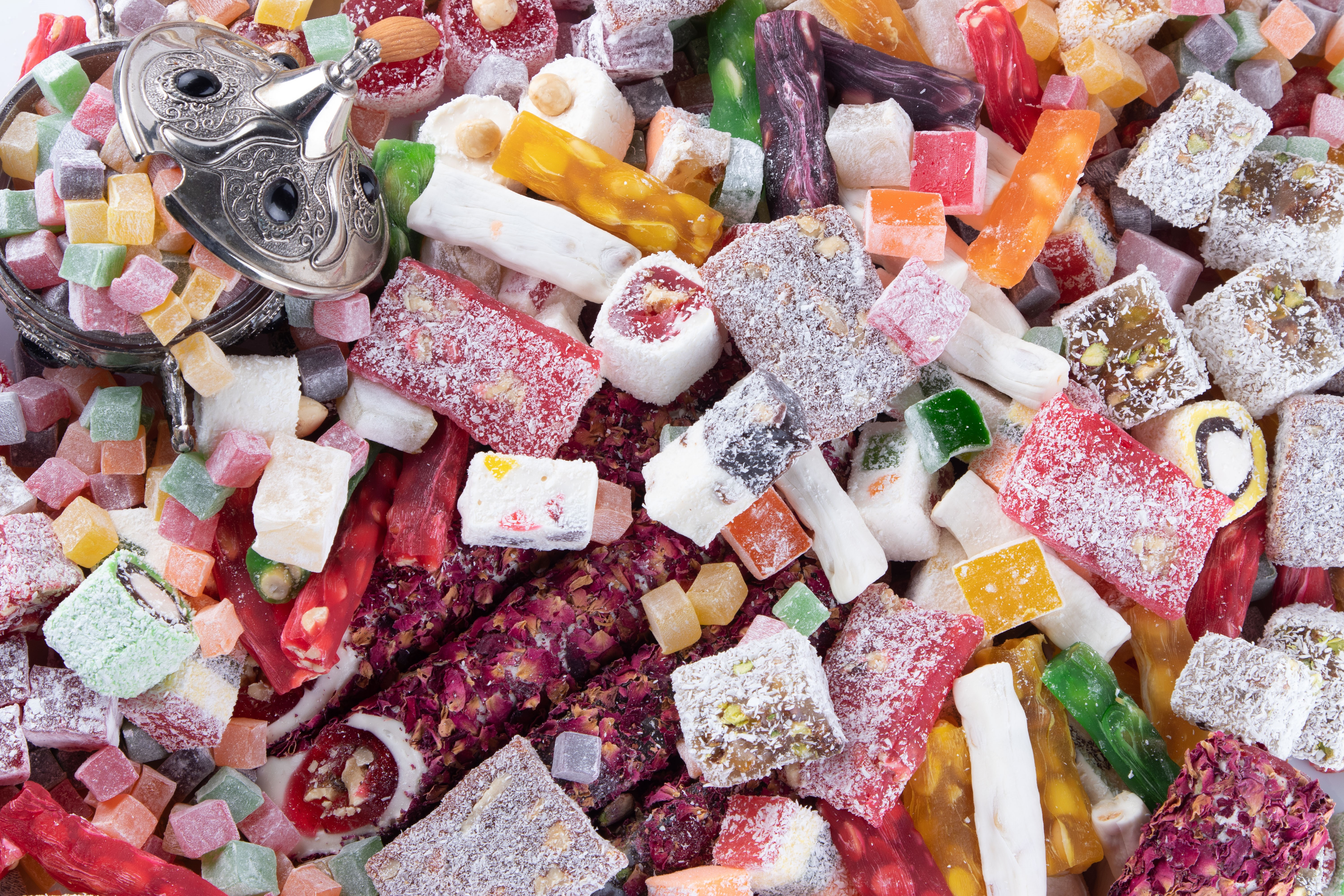 About the benefits of Turkish delight